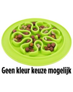 Trixie Voermat Slow Feed Silicone Assorti 24x24 Cm