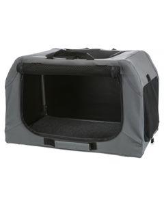 Trixie Soft Kennel Easy Reisbench Grijs 50x36x33 Cm