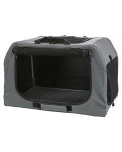 Trixie Soft Kennel Easy Reisbench Grijs 71x51x49 Cm