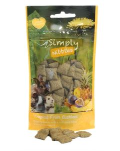 Rosewood Simply Nibbles Tropical Fruit Kussentjes 50 Gr