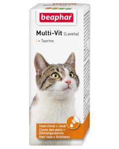 Beaphar Multi-vit Laveta Kat Met Taurine 50 Ml