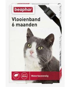 Beaphar Vlooienband Kat Zwart