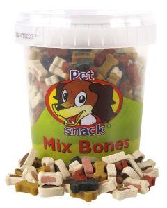Petsnack Mix Bones 500 Gr