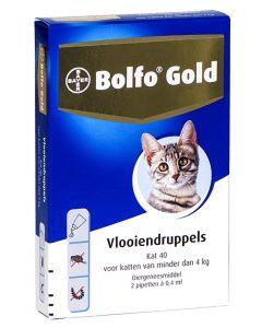 Bolfo Gold Kat Vlooiendruppels 40 2 Pipet
