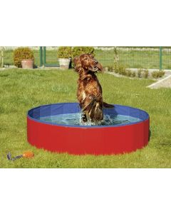 Karlie Doggy Pool Hondenzwembad Rood/blauw 80x20 Cm