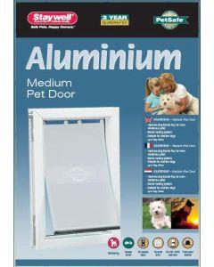 Petsafe Hondenluik Tot 18 Kg Aluminium Wit 620