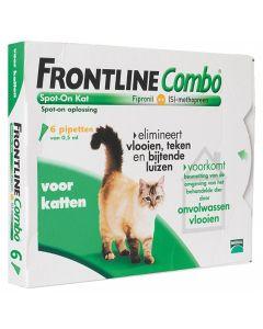 Frontline Kat Combo Spot On 6 Pipet