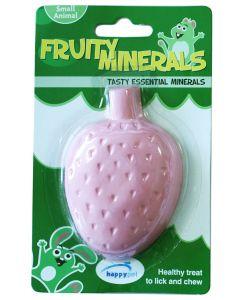 Happy Pet Fruity Mineral Aardbei 210 Ml 9,5x6,5x2,5 Cm