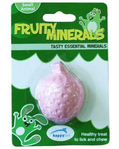 Happy Pet Fruity Mineral Aardbei 5,5x4,5x2,3 Cm
