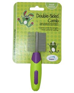 Happy Pet Knaagdier Double Sided Comb 12x4x2 Cm