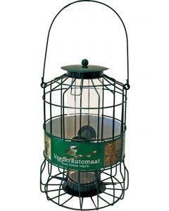 Metalen Voederautomaat Voor Kleine Vogel Groen 17x24 Cm