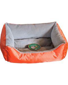 Divan Stof Waterproof Oranje/grijs 50x40 Cm