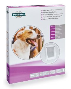 Petsafe Hondenluik Large Wit/transparant 760