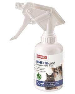 Beaphar Dimethicare Spray Hond / Kat Tegen Vlooien En Teken 250 Ml