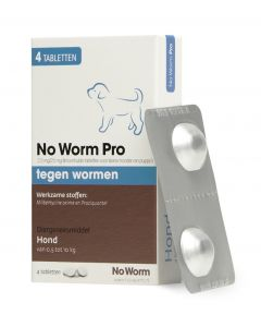 Hond No Worm Pro S 4 Tbl