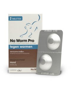 Hond No Worm Pro M 2 Tbl