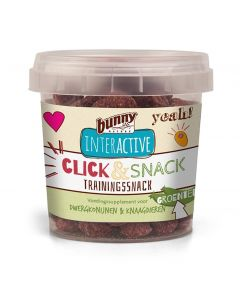 Bunny Nature Click & Snack Trainingssnack Groente 30 Gr
