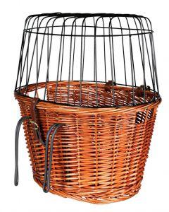 Trixie Fietsmand Met Draadkoepel Voorop Naturel 44x48x33 Cm