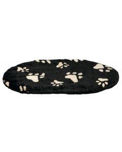 Trixie Hondenkussen Joey Ovaal Zwart Poot