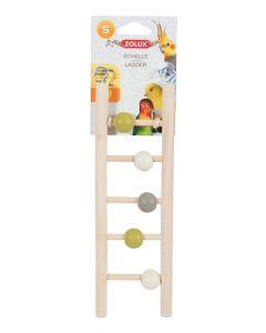 Zolux Ladder Hout 5 Treden Met Kralen 1x7x23,5 Cm