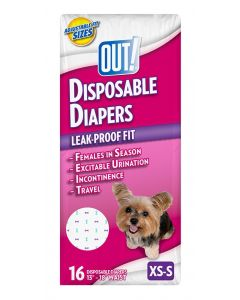 Out! Disposable Diapers Medium / Large 14 St