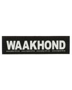 Julius K9 Labels Voor Power-harnas/tuig Waakhond Large