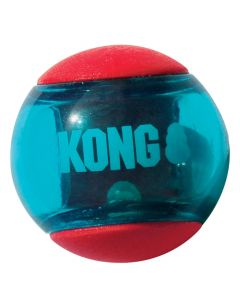 Kong Squeez Action Rood Medium 6,5x6,5x6,5 Cm