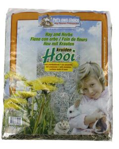 Pets Own Choice Hooi Paardebloem 500 Gr