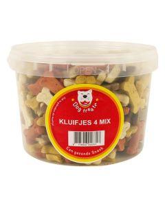 Dog Treatz Kluifjes 4 Mix 1400 Gr 3 Ltr