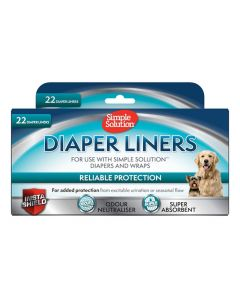 Simple Solution Diaper Liners Light Absorbency 22 St