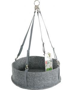 Zolux Neo Comfort Hangmat Knaagdier Lichtgrijs 28x28x9 Cm