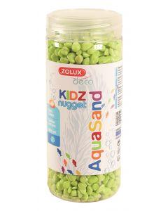 Zolux Aquasand Kidz Nugget Grind Groen 500 Ml