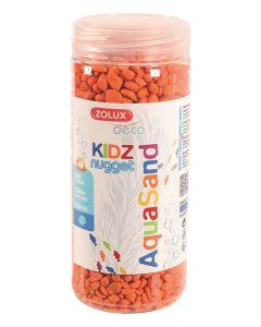 Zolux Aquasand Kidz Nugget Grind Oranje 500 Ml