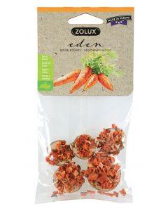 Zolux Eden Houtschijfjes Met Wortel 35 Gr-5 St