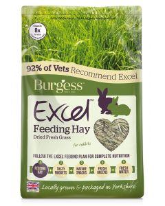 Burgess Excel Feeding Hay Gedroogd Gras 1 Kg