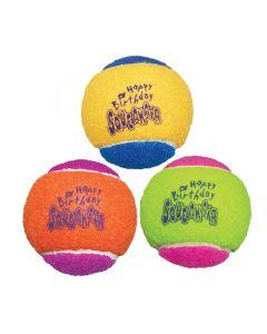 Kong Squeakair Birthday Balls 6,5 Cm 3 St