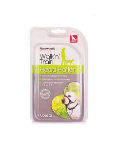 Rosewood Walk 'n' Train Halsband Hond Kop Halter Large
