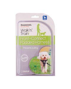 Rosewood Walk 'n' Train Hondentuig Aanlijning Voorzijde Small