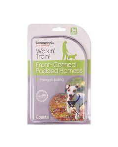 Rosewood Walk 'n' Train Hondentuig Aanlijning Voorzijde Medium