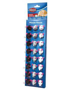 Trixie Pluche Muizen 5 Cm (verpakt per 24)