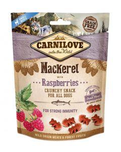 Carnilove Crunchy Snack Makreel / Framboos 200 Gr