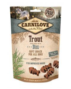 Carnilove Soft Snack Forel / Dille 200 Gr