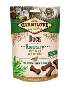Carnilove Soft Snack Eend / Rozemarijn 200 Gr
